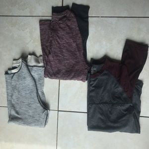 Three Men's Small Long Sleeve Shirts